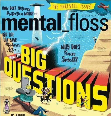 mental floss magazine